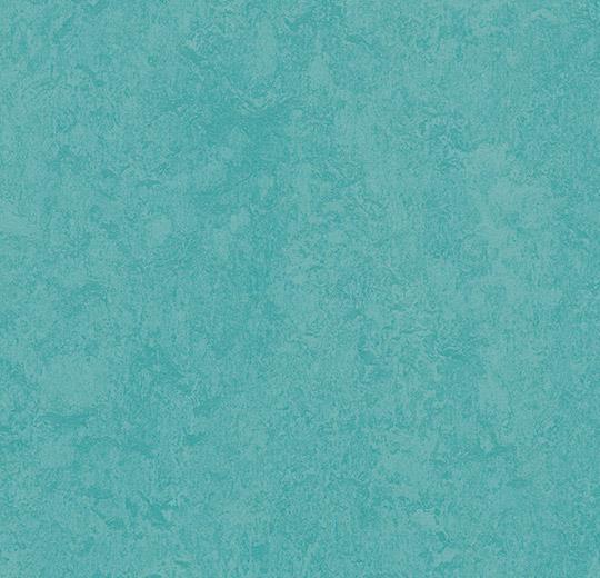 prírodné linoleum Turquoise